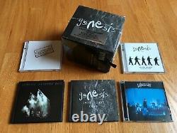 11-CD/DVD Genesis 1973 2007 Live Grey Box Set 5.1 Surround Sound Peter Gabriel