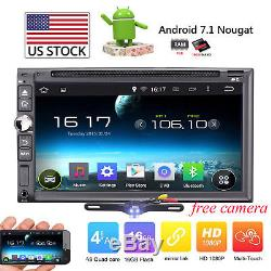 2 Din Car DVD Player Music Audio Video Android7.1 Car Stereo MP3 MP4 Wi-Fi GPS