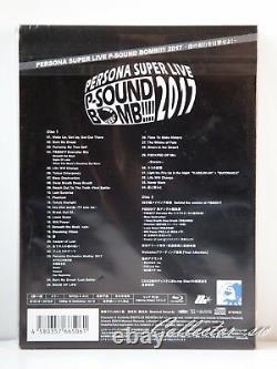 3 7 Days Persona Super Live P-Sound Bomb! 2017 Box Set (2Blu-ray+2CD)