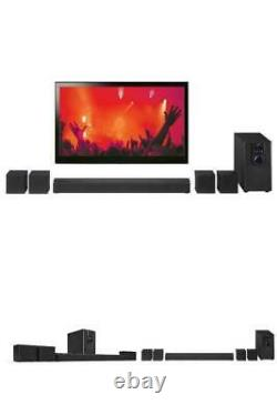 32 Bluetooth Surround Sound 5.1-Channel Music TV DVD Home Theater System