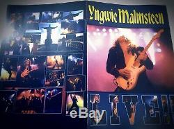 6x CD/Tapes Lot YNGWIE MALMSTEEN FULL Discography HEAVY METAL, MEGA RARE