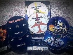 7x HEAVY METAL Lot IRON MAIDEN' 3x Dual LIVE' DVDs + Demo' TAPE, MEGA RARE