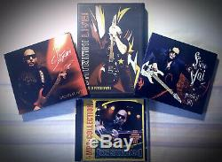 7xCD/DVD Lot JOE SATRIANI/STEVE VAI FULL Discography Collection, HEAVY, RARE