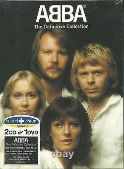 ABBA The Definitive Collection 2 CD + DVD Sound + Vision NEU OVP Sealed Erstpre