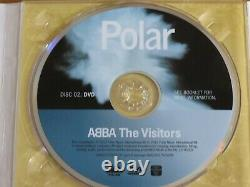 ABBA The Visitors 2 disc (CD/DVD) deluxe edition