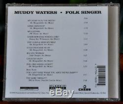 AUDIOPHILE CLASSIC RECORDS DVD AUDIO 24/96 DAD MUDDY WATERS Folk Singer SEALED