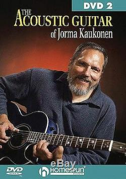Acoustic Guitar Of Jorma Kaukonen Learn to Play Blues Ragtime Music DVD 2