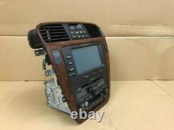 Acura MDX Oem Front Navigation Trip Screen Monitor Radio Map Headunit 2003-2006