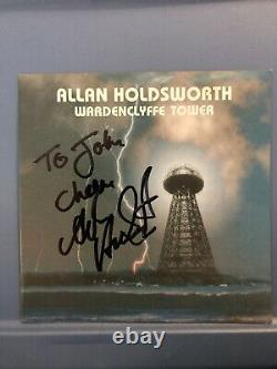 Allan Holdsworth Signed CD In person