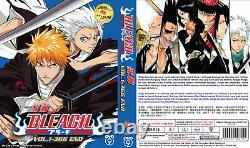 Anime DVD Bleach Complete Series (Vol. 1-366 End) English Subtitle Dub