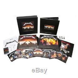 Audio Cd Metallica Master Of Puppets (Deluxe Box-Set) 10 Cd+2 Dvd+3 Lp+Audioc