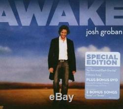 Awake (Special Edition, CD/DVD) Audio CD By JOSH GROBAN VERY GOOD