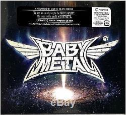BABYMETAL METAL GALAXY 1st Press japan Limited Edition 2CD + DVD 2 Bonus tracks