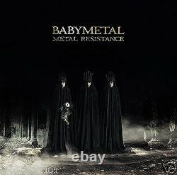 BABYMETAL METAL RESISTANCE Limited Edition CD+DVD 4988061865454 TFCC-86545 Japan