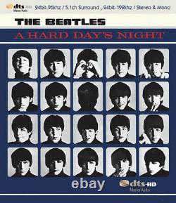 BEATLES / A HARD DAY'S NIGHT DTS-HD blu-ray MASTER AUDIO 5.1 SURROUND