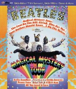 BEATLES / Magical Mystery Tour blu-ray audio DTS-HD MASTER AUDIO 7.1 SURROUND