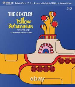 BEATLES / YELLOW SUBMARINE SONGTRACK blu-ray DTS-HD MASTER AUDIO 5.1 SURROUND
