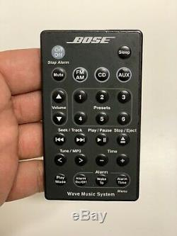 BOSE WAVE Music System Model AWRCC1 CD Player AM FM Radio AUX Remote + EXTRAS