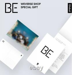 BTS Official BE Deluxe Edition Album CD Full Set + Special Gift Authentic K-Pop