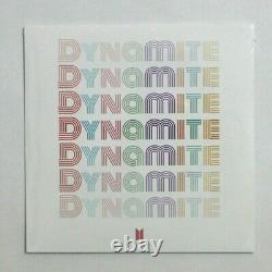 BTS Official Dynamite Vinyl 7 LP Limited Edition Authentic K-pop Bangtan Boys