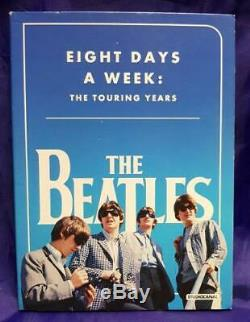 Beatles Eight Days A Week The Touring Years UK DVD promo BAFTA49 APPLE CORPS