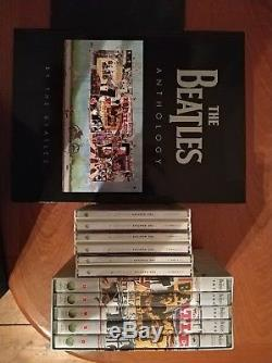 Beatles complete anthology CD, DVD & book