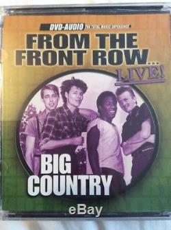 Big Country From The Front Row. Live! Dvd Audio