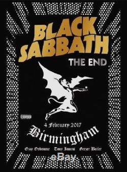 Black Sabbath The End (Blu-Ray + DVD + Audio CD, 2017) Ships in 12 hours