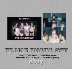 Blackpink 2021 The Show DVD K-pop Sealed New+special Gift Photo Card+tracking