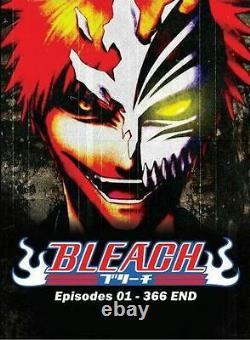 Bleach (VOL. 1 366 End) English Version All Region Brand New Free Bonus