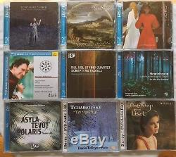 Blu-Ray Hybrid SACD DVD-Audio Surround Sound Audiophile 9 CD Classical Lot