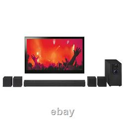 Bluetooth Surround Sound System, 32 5.1-Channel Music TV DVD Home Theater