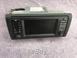 Bmw E38 E39 E53 Oem Wide Screen Gsp Navigation Radio Head Unit 65526913387