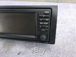 Bmw E38 E39 E53 Oem Wide Screen Gsp Navigation Radio Head Unit 65526915516