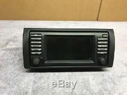 Bmw E38 E39 E53 Oem Wide Screen Gsp Navigation Radio Head Unit 65526923877