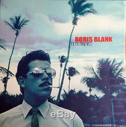 Boris Blank'electrified' Box-set (3lp, 3cd, Dvd, Mc, Booklet) Yello 2014 (new)