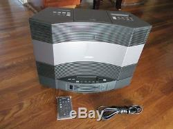 Bose Acoustic Wave Ii Music System + Wave Connect/bluetooth