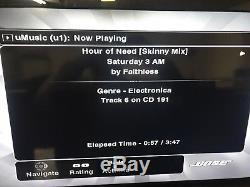 Bose Lifestyle AV48 Media withHard Drive CD/DVD Dont Work, Stored Music Works