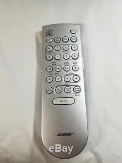 Bose Wave Music CD, AM/FM Stereo, Alarm, Aux System & Remote AWRCC1 Made in USA