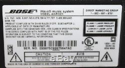 Bose Wave Music System AM/FM, Aux Input with Multi-CD Changer and Remote NICE