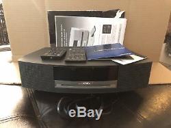 Bose Wave Music System AWRCC1 CD AM FM Radio CD Player With 2 Remote Controls