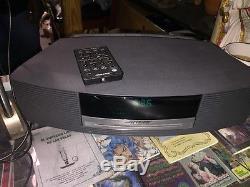 Bose Wave Music System Model AWRCC1 AM/FM Radio & Cd Player With Remote