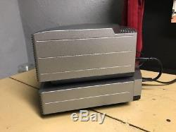 Bose Wave Music System With Multi CD Changer With Remote Titanium Silver GREAT