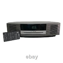 Bose Wave Radio Music System III AWRCC1 CD Player with 3 Disc Changer + 2 Remotes