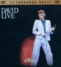 Bowie, David David Live DVD AUDIO Bowie, David CD ZYVG The Cheap Fast Free
