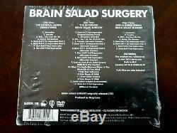 Brain Salad Surgery Bonus Disc Emerson, Lake & Palmer (2CD/DVD-Audio 2014) NEW