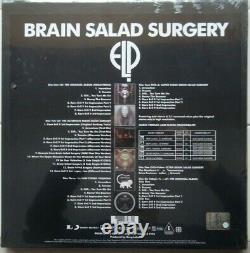 Brain Salad Surgery by Emerson Lake & Palmer (3CD/DVD-A/DVD/LP Box, 2014) NEW