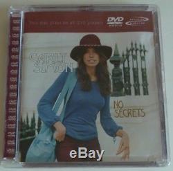 CARLY SIMON No Secrets RARE multichannel DVD-Audio disc RHINO label 081227438494