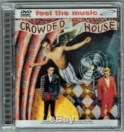 CROWDED HOUSE-S/T-Neil/Tim Finn-Split Enz-Joe Satriani-DVD AUDIO-Surround-RARE