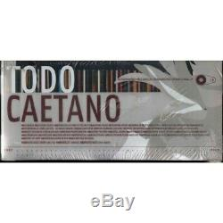 Caetano Veloso Box 41 CD+DVD Audio Todo Caetano Sigillato 0044006631608